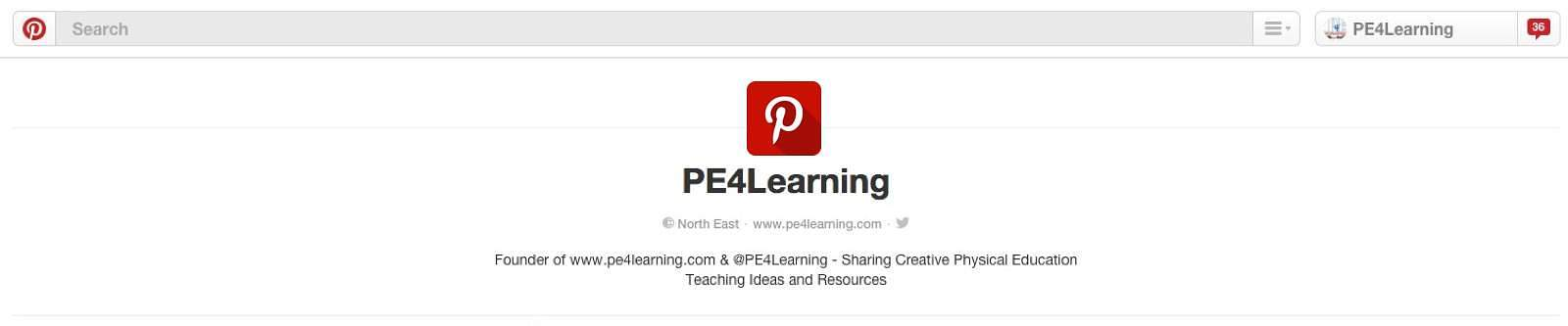 PE4Learning on Pinterest