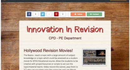 SMORE 4 Learning - Innovation in Revision
