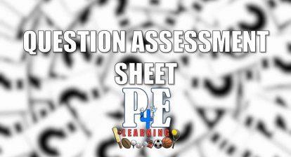Question Assessment Sheet - Attempt, Mark, Improve