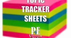 "Topic Tracker Sheets - ""I Can"" AQA PE from @GymaholicTracy"