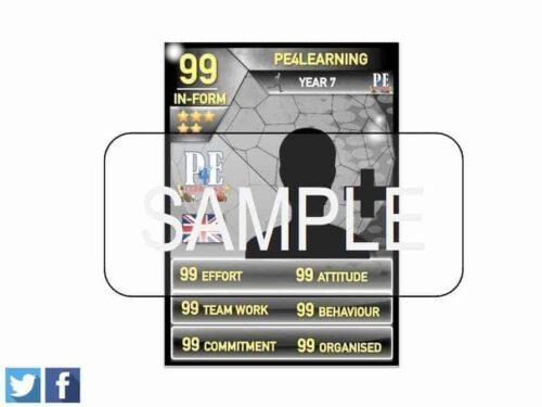 Merit PE Reward Cards - Ultimate Team Achievement Card Template
