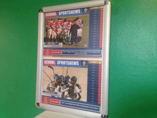 School Sports News HD Display Poster