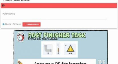Fast Finisher Cards @PE4Learning [DOWNLOAD]