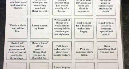 PE Homework - Bucket List