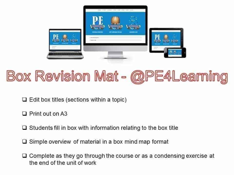 Box Revision Mat