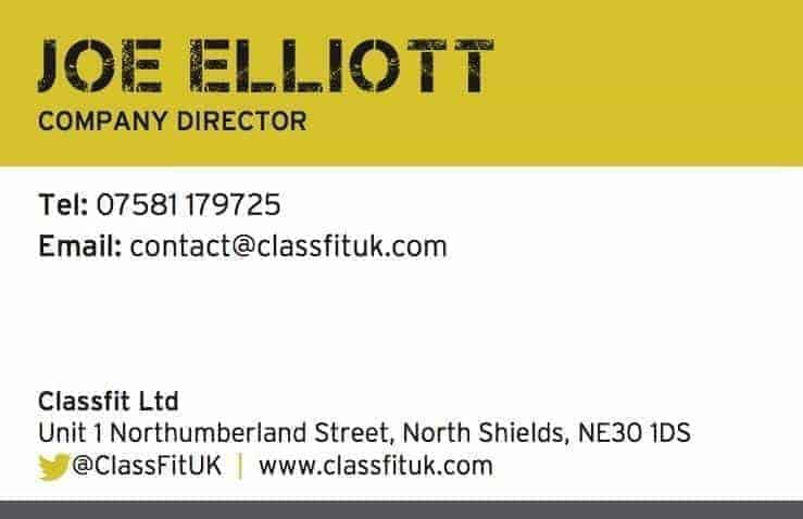 ClassFit Contact Card
