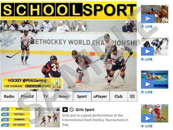 School Sport News Display Poster