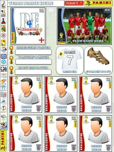 Sticker Album @PE4Learning