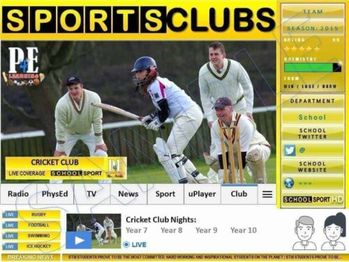 Sports Club & Extra Curricular Poster Templates