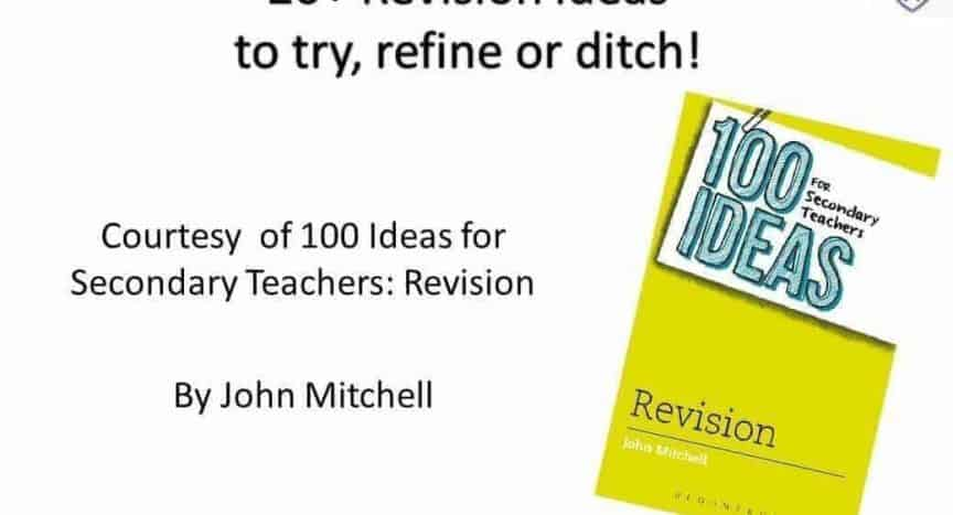20+ Revision Ideas to Try, Refine or Ditch - @VickieBracken