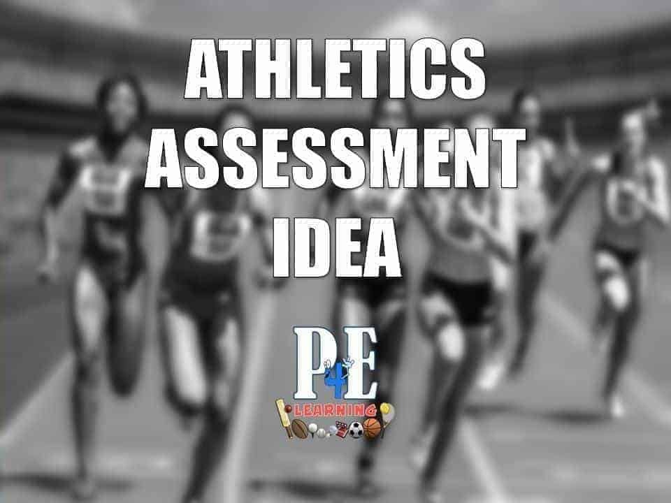 Athletics Assessment Idea from @sportonthemind