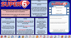 GCSE Super 6 Plenary/Competition - @PE_Hill [DOWNLOAD]