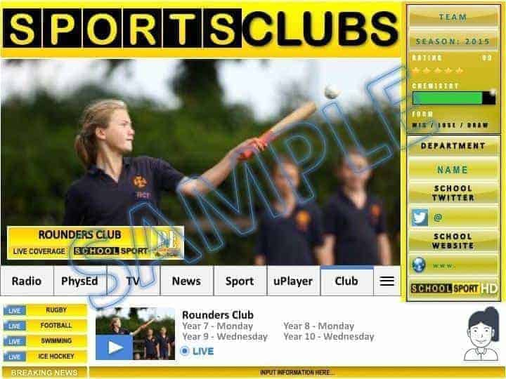 School sports club poster templates pe4learning min pe4learning com
