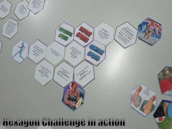 Hexagon Link Challenge h