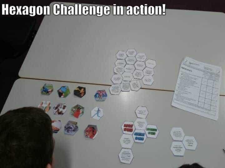 Hexagon Link Challenge g