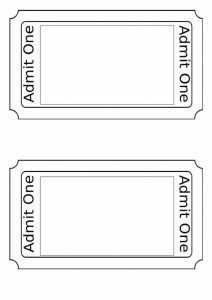 PE4Learning  Entry Ticket Template