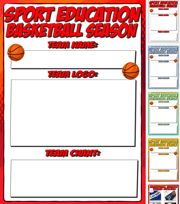 Basketball Sport Education
