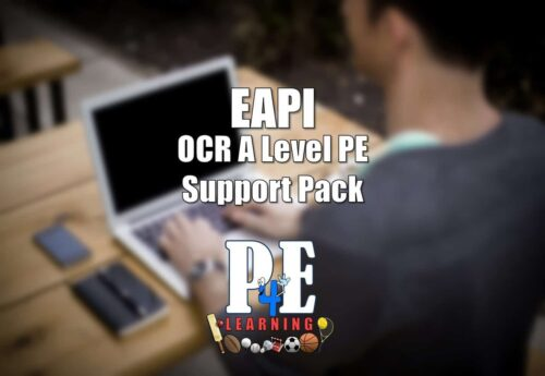 EAPI – OCR A Level PE Support Pack @PE4Learning