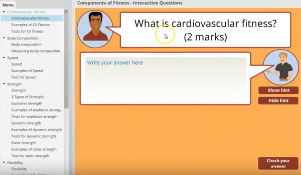GCSE interactive App