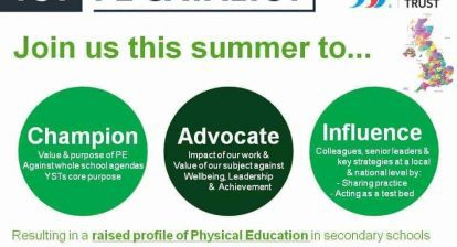Want to change the future of secondary PE? @WillSwaithes & @YouthSportTrust