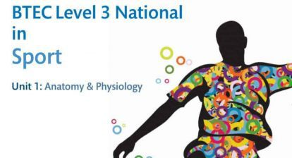 Pearson BTEC Level 3 National in Sport Unit 1: Anatomy & Physiology Sample Assessment Materials (SAMs)