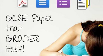 Learn how to digitise your 'mock' exam paper questions in less than 10 minutes @MrAdamPE