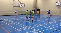 4 Way Badminton Idea - @DiCataldoPE