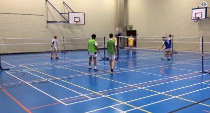 4 Way Badminton Idea - @DiCataldoPE