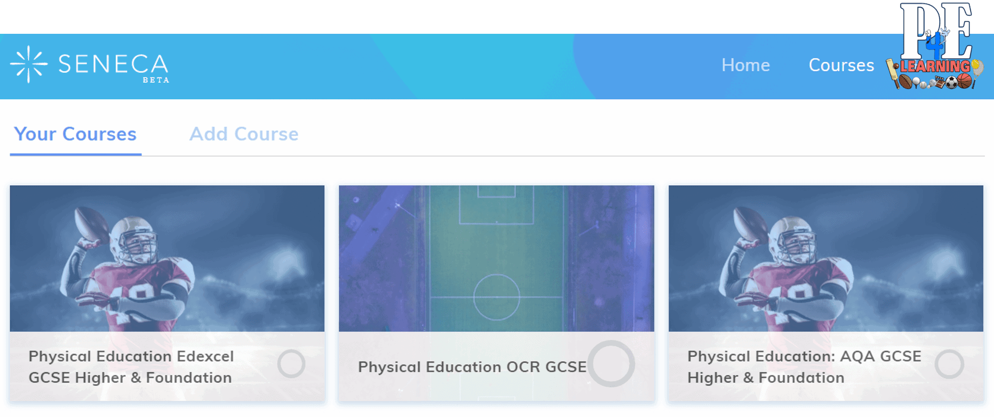 FREE PE Accelerated Learning System from @SenecaLearn | AQA Edexcel OCR