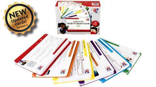 Edexcel GCSE PE Smart Cards - SmartPE.co.uk   A Smarter Way To Learn @_SmartPE [Affiliate]