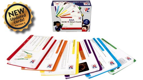 AQA GCSE PE Smart Cards - SmartPE.co.uk | A Smarter Way To Learn @_SmartPE [Affiliate]