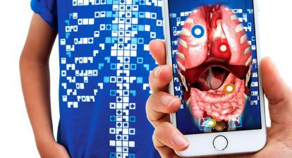 Virtuali-Tee from CURISCOPE | Augmented Reality 3D Learning Experience