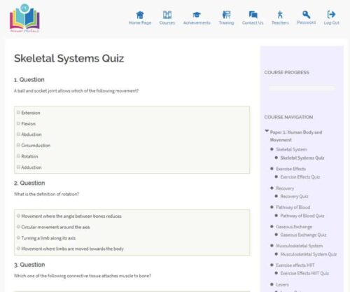 Answer PErfect - Exam board specific revision videos, questions and resources [Affiliate]
