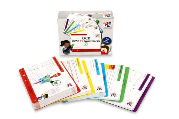OCR GCSE PE Smart Cards - SmartPE.co.uk | A Smarter Way To Learn @_SmartPE [Affiliate]