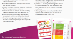 Jasmine is a new primary PE digital platform to support teachers and pupils in their real PE and real gym lessons, and real play sessions @Create_Dev