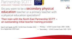 Become a PE Teacher - North East Partnership SCITT