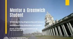 Mentor a Greenwich Student - PE Mentors Needed