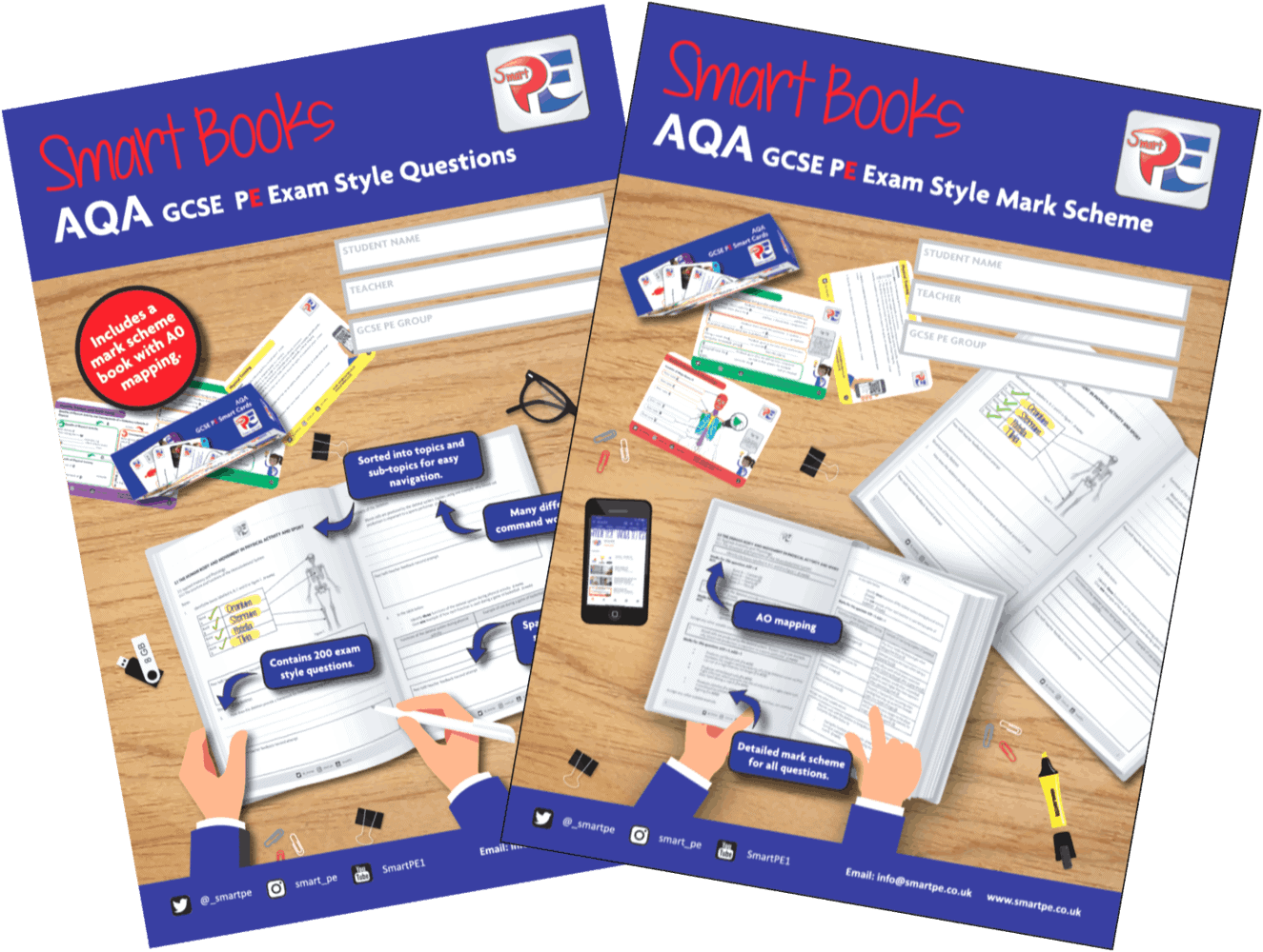 AQA Smart Books - SmartPE.co.uk | A Smarter Way To Learn @_SmartPE [Affiliate]
