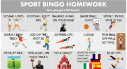 Sports Bingo Homework