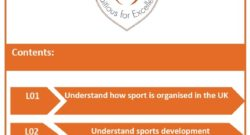 Unit 3 Sports Organisation and Development | Cambridge Technical Sport