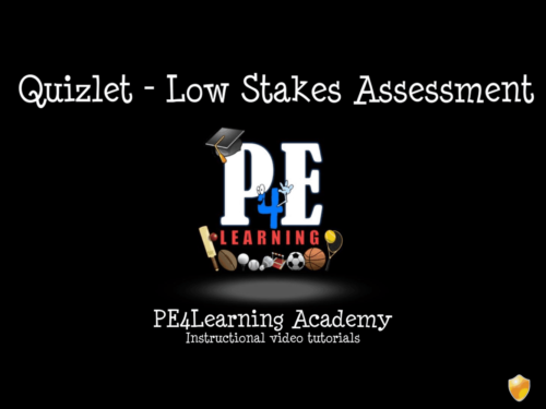 Quizlet Low Stakes Testing, Recall and Revision Course – Online Learning [Academy]