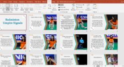 Badminton Shot Cards | Umpire Signals | Peer Assessment Sheets by Tasha Williams @misswilliamspe
