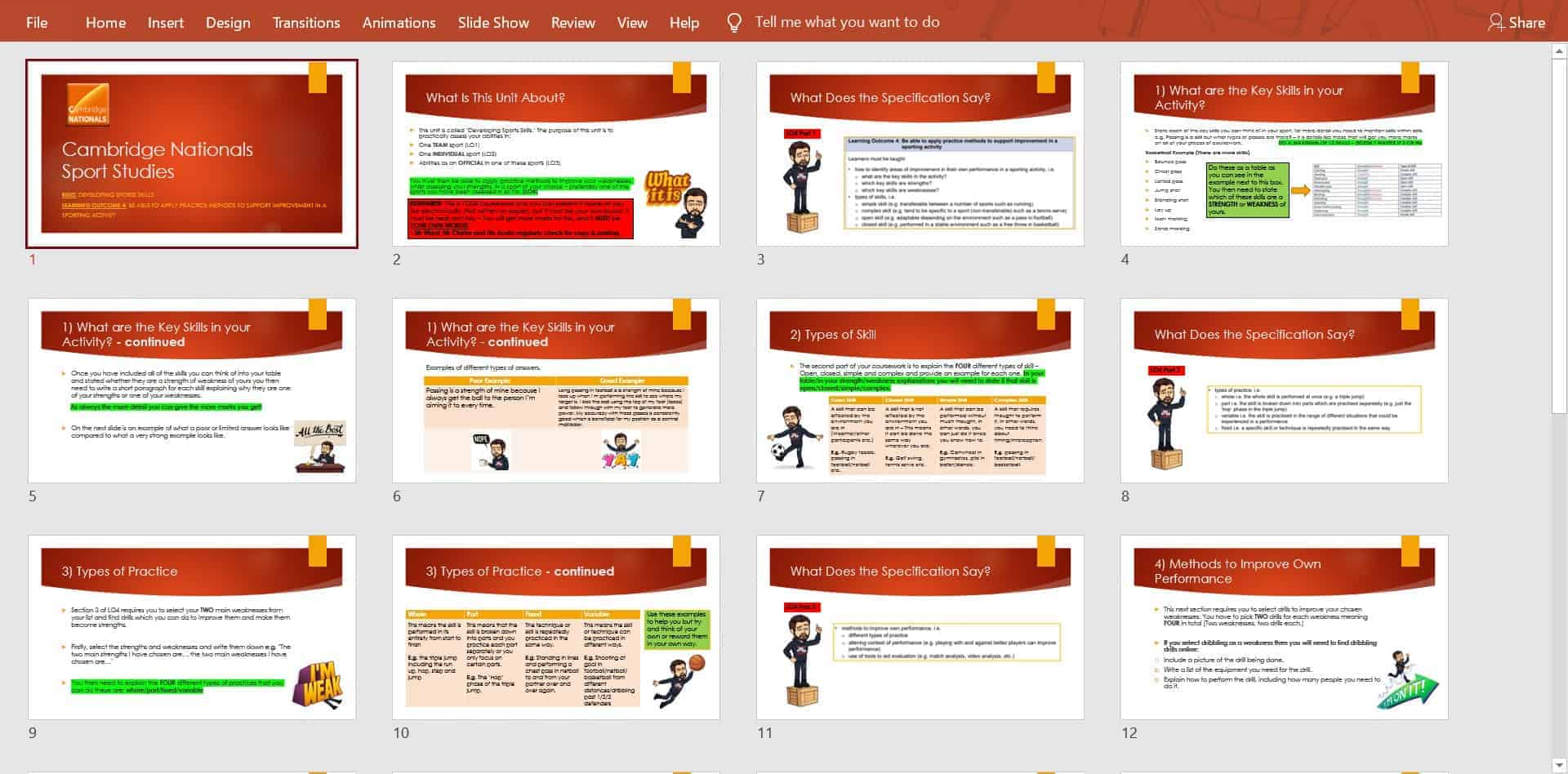 New uploads to @PE4Learning by @MrWardPE Sport Studies - R052 LO4 PP