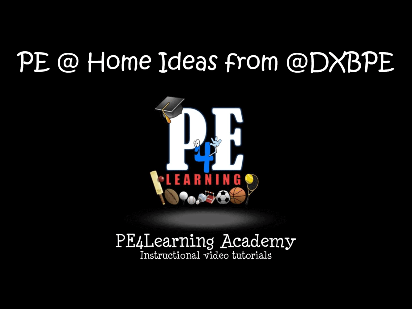 PE @ Home Ideas from @DXBPE