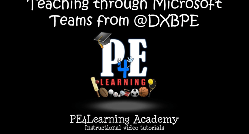Teaching through Microsoft Teams from @DXBPE