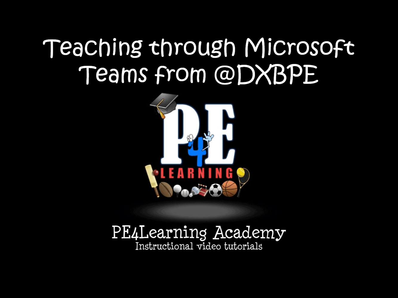 Teaching through Microsoft Teams from @DXBPE