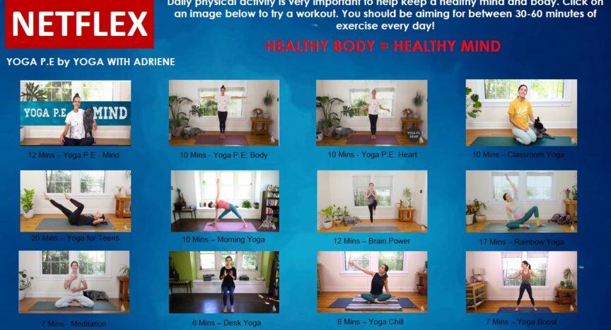 netflex healthy body healthy mind